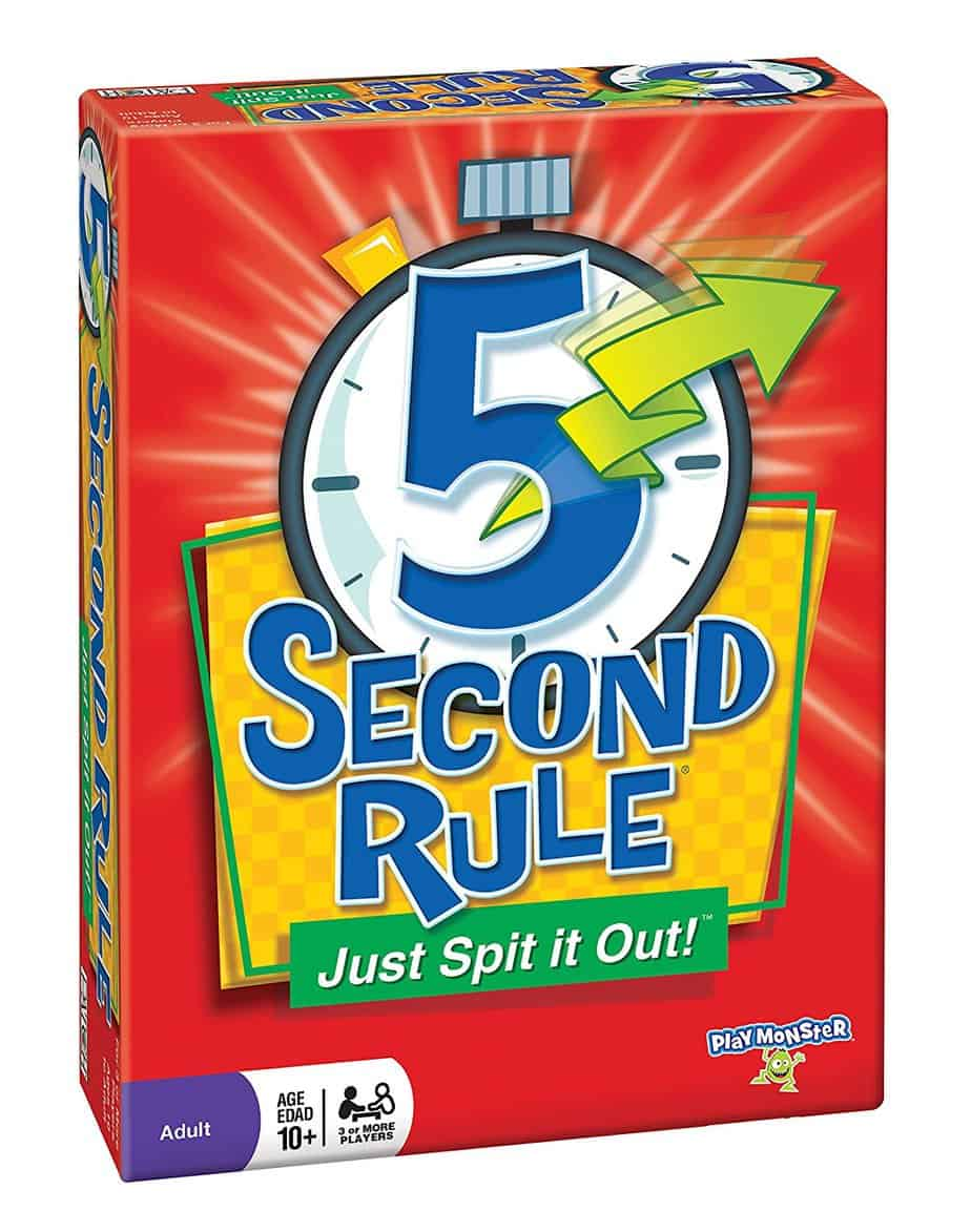 5 second board game review