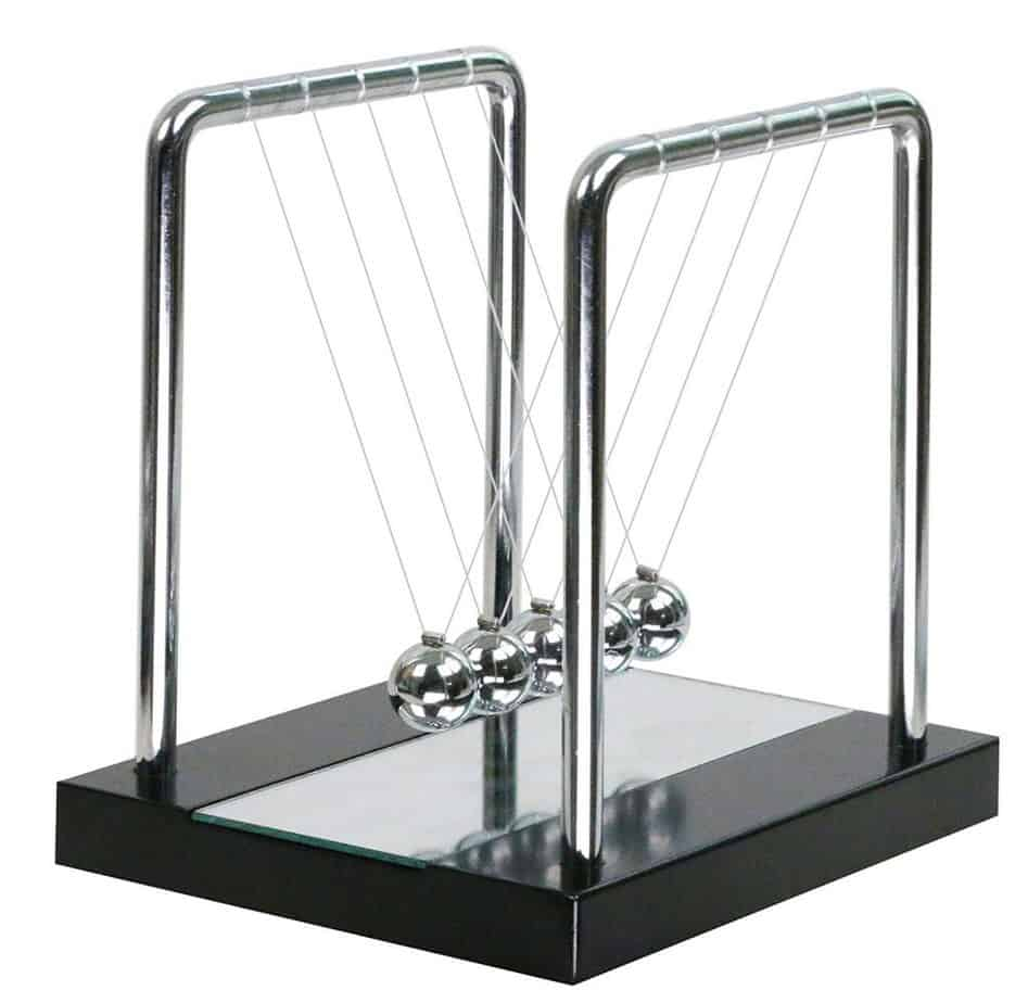 Newton's Cradle Balance Ball Science Puzzle Desk Toy